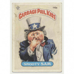"""GPK US OS3 - 110a - """"Snooty..."""