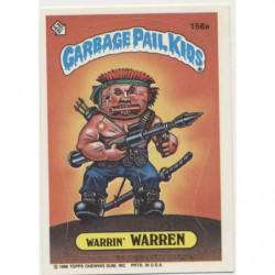 "GPK US OS4 - 156a ""WARRIN'..."